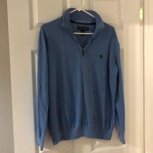 U.S. POLO ASSN. Quarter Zip Sweater